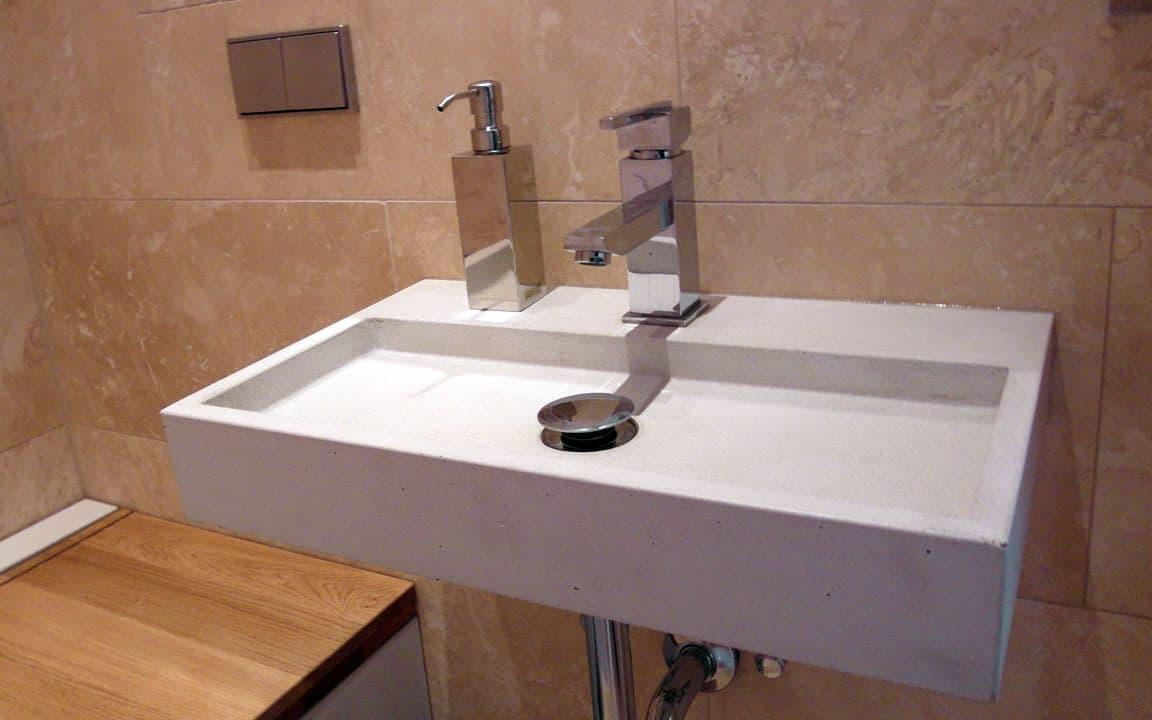 betonowe umywalki wpuszczane
