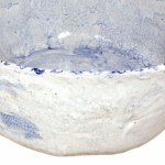 Gliniana umywalka retro