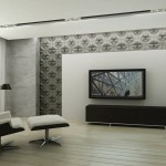 Salon - płytki 3D