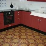 Cementowe płytki kuchenne