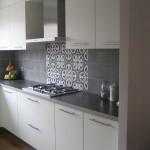 Kuchnia płytki cementowe
