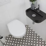 Łazienkowe płytki podłogowe