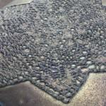 Koronkowa płytka piecowa