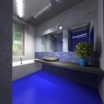 Niebieska mozaika Barcelona