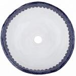 Umywalki Gliniane - Umywalka Zdobiona