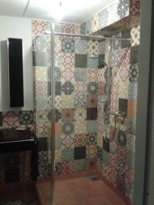 Cementowy patchwork
