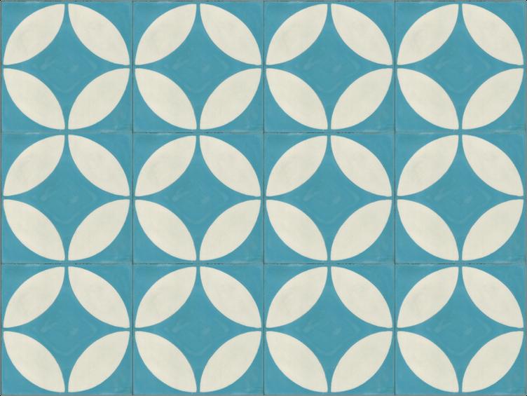 Cementowe płytki podłogowe